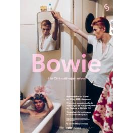 Affiche Rétrospective David Bowie