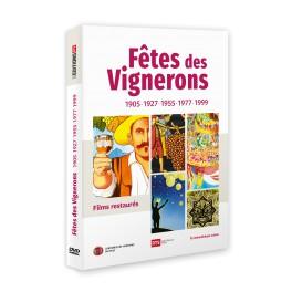 DVD Fêtes des Vignerons : 1905-1927-1955-1977-1999